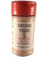 Sacred Tiger Extra Fine Himalayan Pink Salt in Shaker Bottle - $13.10
