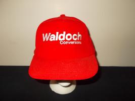 VTG-1990s Waldoch Conversion Vans Trucks Custom corduroy snapback hat sku34 - $27.83