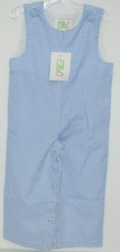 Ellie O Gingham Full Lined Longall Size 12 Months Color Blue