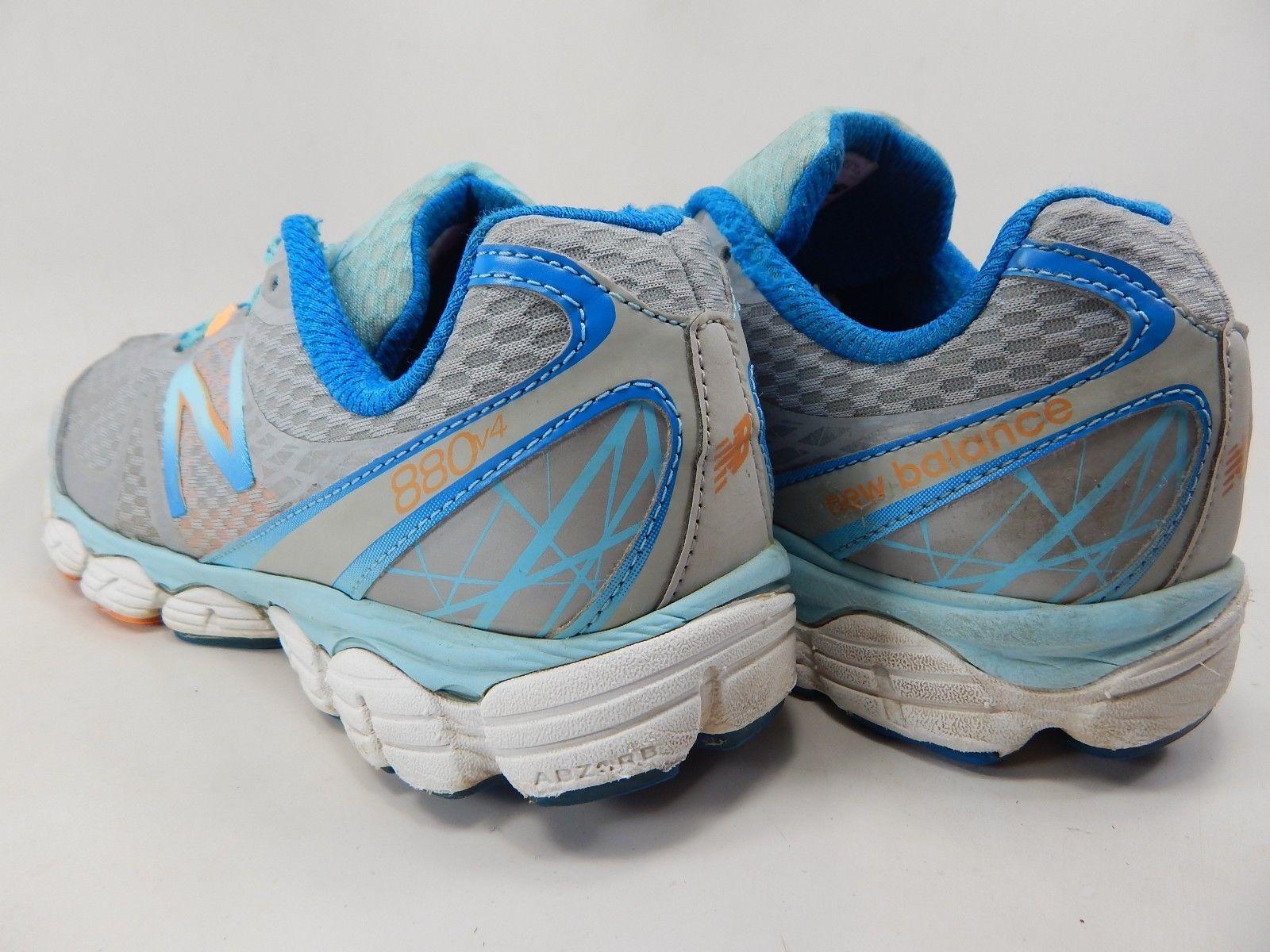 New Balance 880 v 4 Size US 8 M (B) EU 39 Women's Running Shoes Silver W880WO4