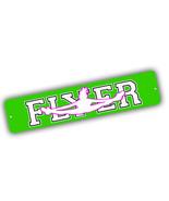 Cheerleader Flyer Cheer Team Enthusiast 4x18 in. Aluminum Street Sign - $17.77