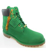 """TIMBERLAND A1IPD MEN'S 6"""" PREMIUM LIMITED RELEASE GREEN WATERPROOF BOOTS - $139.99"""
