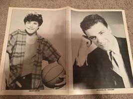 Kirk Cameron Michal St. Gerard Sean Astin teen magazine poster clipping 1980's