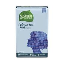 Seventh Generation Maxi Pads, Regular Absorbency, Chlorine Free, 24 count - $5.75