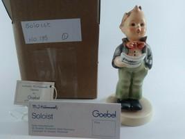 "Vintage Hummel Goebel Figurine ""Soloist ""  #135..( 5 inch) Free Shipping - $23.27"