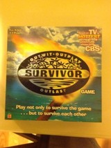 Mattel Survivor Board Game 2000 edition Outwit Outplay Outlast - $14.85