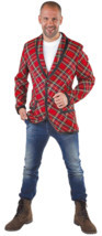 Red Tartan Jacket - Rod Stewart / Punk - $37.01+