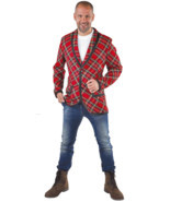 Red Tartan Jacket - Rod Stewart / Punk - £29.69 GBP+