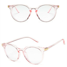 New Fashion Retro Style Oval Clear Lens Glasses Frame Retro Casual Daily... - $7.99