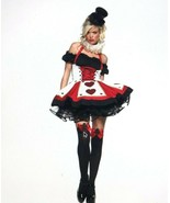 Sexy Pretty Playing Card Costume Halloween S M Leg Avenue Adult Cosplay ... - $59.39