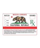 California CA Prop 215 Medical Marijuana Cannab... - $38.21