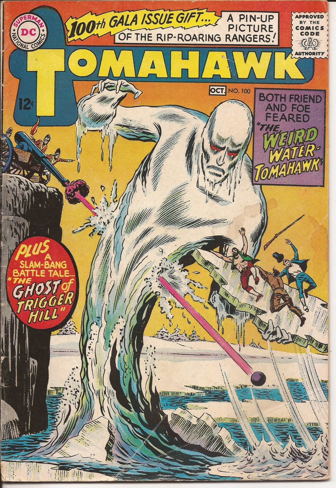 DC Tomahawk #100 Weird Water Tomahawk Ghost Of Trigger Hill