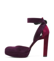Stuart Weitzman Strapping Pump Berry Nude 9.5 - $169.15