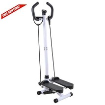 Adjustable Twister Stepper With Handle Bar Exercise Workout Fitness Mini... - $87.82
