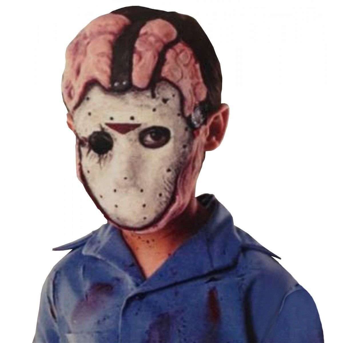 deluxe jason voorhees costume mask kids and 48 similar items