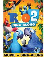 Rio 2 Sing-Along (DVD, 2014) Movie + Sing-Along - $9.00