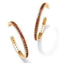 Birthstone 14k Gold-Plated Hoop Earrings - $16.82