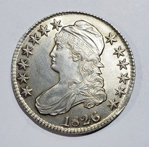 1826 Capped Bust Half Dollar 50¢ Coin Lot# E 286
