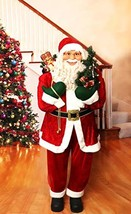 Fraser Hill Farm Red Life-Size Indoor Christmas Decoration, 5-Ft. Standi... - $483.42
