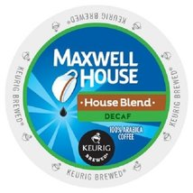 Maxwell House Decaf Coffee Single Serve K Cups, 24 Count - $24.49