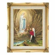 Our Lady of Lourdes Framed Art - $95.00