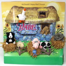 Babe The PIG  McDonalds Happy Meal 95 Display Dog Cat Sheep Cow Goose Sq... - $88.81