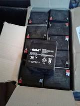 10 CASIL CA-1240 12V 4AH Rechargeable Valve Regulated Sealed Lead Acid Batteries image 2