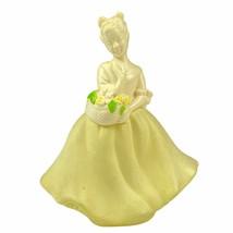 Avon Yellow Dress Somewhere Cologne 4 Oz Bottle Empty Vintage - $12.86