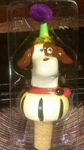 NIB Vintage Kapper Dog Wine Stopper Cork - Festive and Fun! - €7,23 EUR