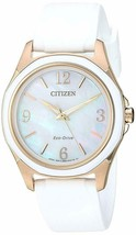 Citizen Eco-Drive Women's FE7056-02D DRIVE AR Mother of Pearl Dial 35mm Watch - $111.72