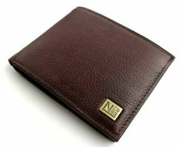 Nautica Men's Premium Leather Credit Card Id Passcase Wallet Billfold 31Nu22X030 image 4