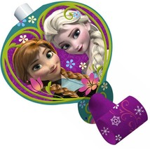 Disney Frozen Blowouts Birthday Party Favors 8 Per package NEW - $3.91