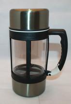 Starbucks Coffee Barista 2004 Stainless French Press Insulated Travel Mug 24oz - $53.73