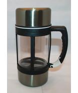 Starbucks Coffee Barista 2004 Stainless French Press Insulated Travel Mu... - $53.73