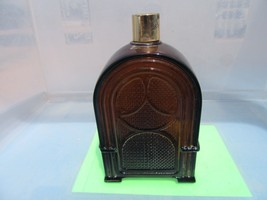Avon Decanter VTG Radio bottle brown glass figurine collectibles empty - $9.39