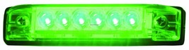 "Invincible Marine BR51602 4"" Slim Line Green LED Strip Boat Light NIP"