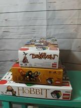 Set of 3 LEGO Games - The Hobbit #3920 - Lava Dragon 3838 - Heroica #385... - $23.02