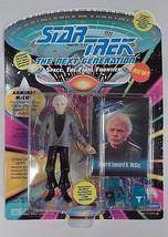 MIB 1993 Playmates Star Trek TNG Next Generation Admiral McCoy Action Figure - $7.08