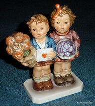 """""""The Love Lives On"""" Goebel Hummel Jubilee Collectible 50th Anniversary Figurine - $90.20"""