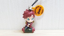 Bandai Naruto GAARA KAZEKAGE keychain strap swing mascot figure - $19.59
