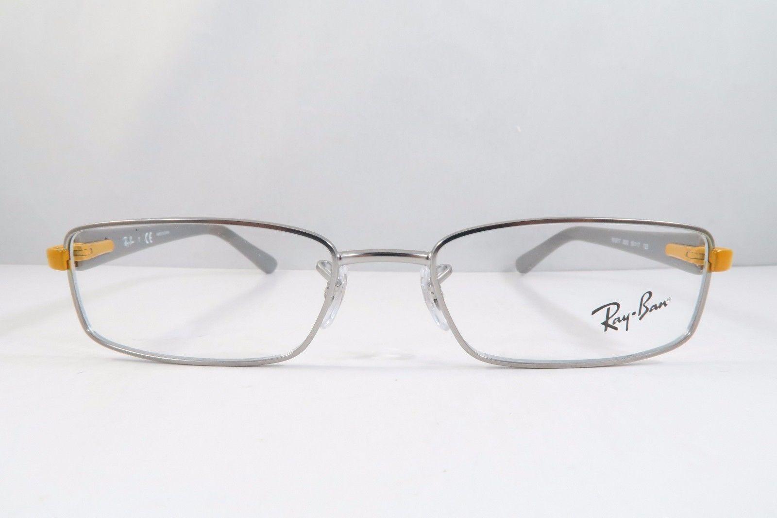 2baab5992ba Ray-Ban RB 6217 2620 Silver Grey Orange New and 50 similar items. 57