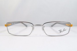 Ray-Ban RB 6217 2620 Silver/Grey/Orange New Authentic Eyeglasses 50mm - 100 - $42.99