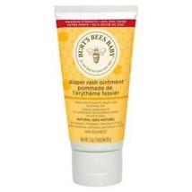 Burt's Bees Baby Diaper Rash Ointment 100% Natural Nourishes Skin 3oz EX... - $9.89