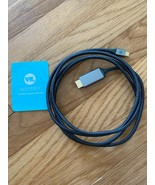 Warrky USB-C to HDMI Cable 6ft  - $9.89