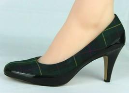 Liz Claiborne New York Cammie Mujer Zapatos Clásico Curación Verde Negro Talla - $19.94