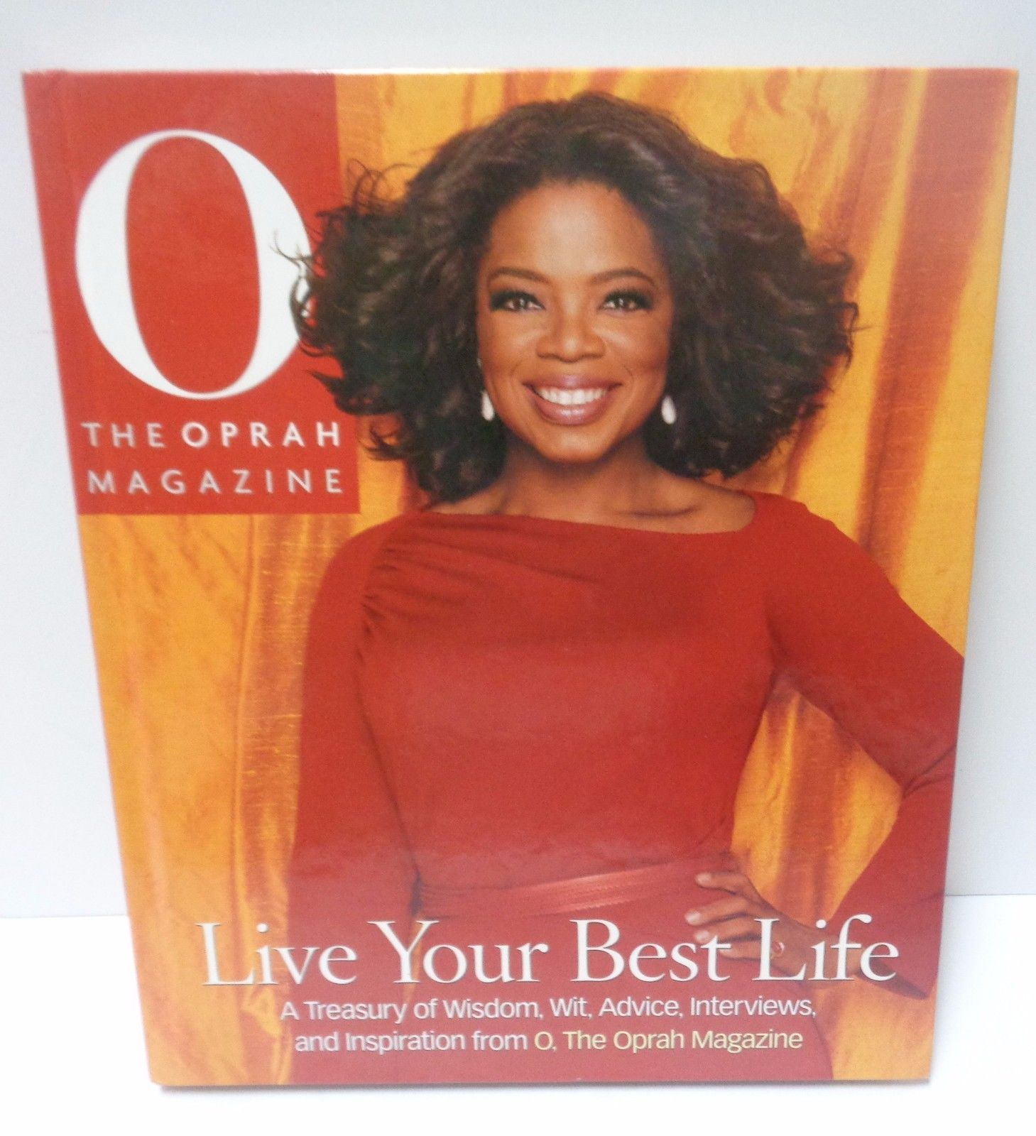 Oprah Winfrey Book LIVE YOUR BEST LIFE ISBN 0-8487-3105-0 NEW Hard Cover