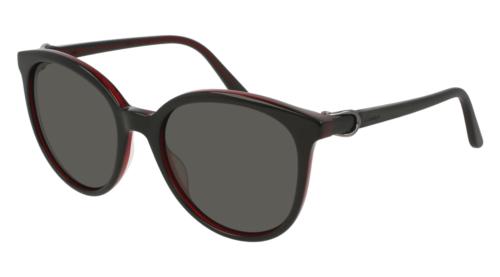 Cartier Signsture C DE Cartier Sunglasses CT0003S 005 54MM Black Black Grey