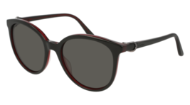 Cartier Signsture C DE Cartier Sunglasses CT0003S 005 54MM Black Black Grey - $296.99