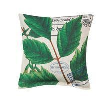 #10017122   *Botanical Leaves & Passport Stamps Pillow* - €18,96 EUR