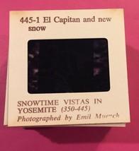Blackhawk Films Lot Of 25 Slides Snowtime Vistas In Yosemite California - $12.19
